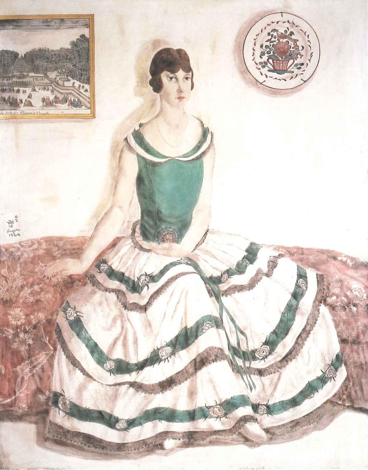 藤田嗣治 【エレーヌ・フランクの肖像】(1924).jpg